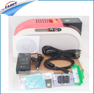 PVC Card Printer/Plastic Card Printer/Student ID Card Printing Machine with Contact Smart IC Chip Encoding Module pictures & photos