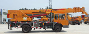 Hot Sale HOWO Mobile Truck Crane Qy8f of 8tons pictures & photos