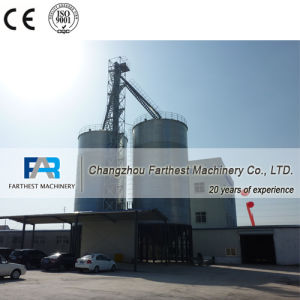China Wheat Bran Flat Bottom Steel Silos Manufacturer pictures & photos
