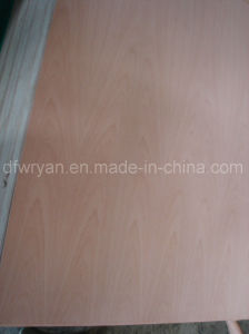 China Cherry Veneer Plywood Decorative Plywood pictures & photos
