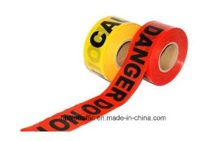 Customized Printing PE Barrier Line Caution Warning Tape