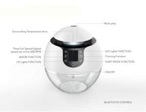 Home Air Revitaliser with Blurtooth and Music Purifier pictures & photos