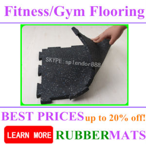 Free Weight Area Training Gym Rubber Flooring Easy Installation Mat pictures & photos