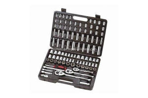Hot Sale 100-Piece 1/2 &1/4& 3/8-Inch Dr. Sockets Tool Set pictures & photos