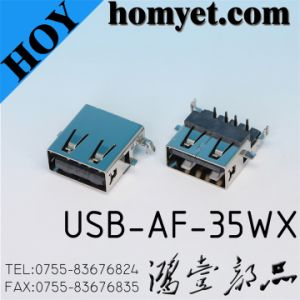 USB Jack for Electric Accessories (USB-AF-35WS) pictures & photos