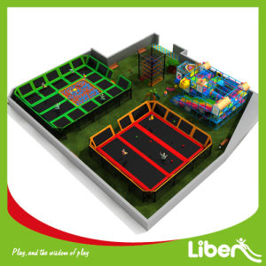 Liben Manufacturer Prices of Indoor Trampoline Area for Sale pictures & photos