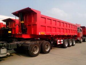 20~45 Ton Dump Truck Semi-Trailer
