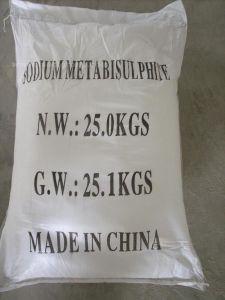 CAS No. 7681-57-4 97% Food Grade Preservative Sodium Metabisulfite pictures & photos