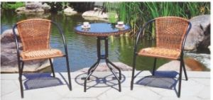 Rattan Table and Chair Outdoor Furniture on Promotion