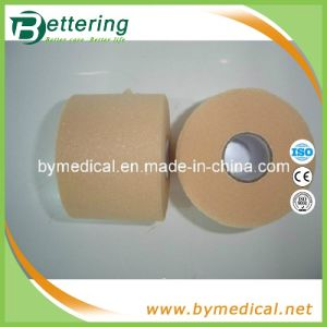 Sports Self Adhesive Soft Pre Wrap Bandage Skin Colour pictures & photos