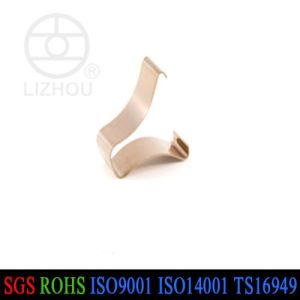 Customized Phosphorous Flat Bronze Spring Clip pictures & photos