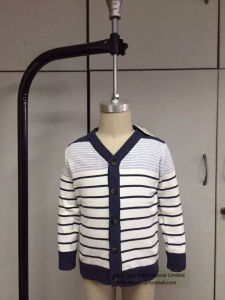 Kids Stripe Ture Knitted Cardigan for Baby Boys - Have Stock! pictures & photos