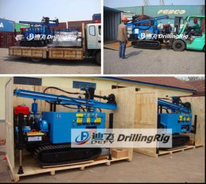 Dfq-200 200m DTH Portable Borehole Drilling Rig pictures & photos