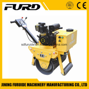 Diesel Walking Behind Single Steel Wheel Vibratory Road Roller pictures & photos