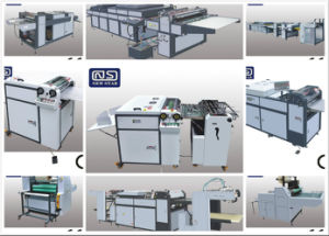 Sguv-660 Manual UV Coating Machine for Paper with Jogger Collector pictures & photos