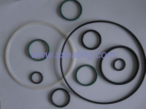Rubber O-Ring Made by Nitrile, Viton, Silicon