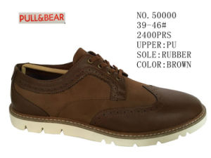 No. 50000 Men′s Casual Shoes Brown Color pictures & photos