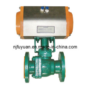 FEP Lined Ball Valve (Q641) pictures & photos