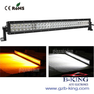 Double Color Amber/White LED Light Bar pictures & photos