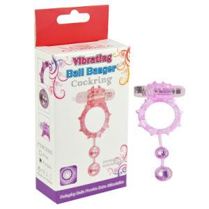 Dual Swing Ball Stimulating Penis Ring Keep Penis Erect State pictures & photos
