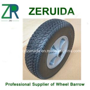 12X3.25 Inches Semi Pneumatic Rubber Wheel for Mowers pictures & photos