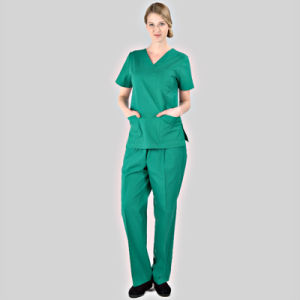 Simple Medical&Hospital Scrubs/Uniforms/Apparels Sets for Doctor/Nurse pictures & photos