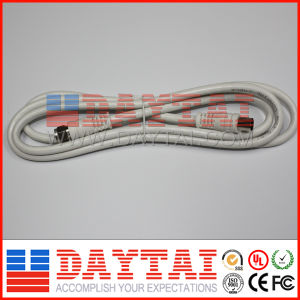 RG6 Coaxial Cable TV Patch Cord TV Patch Cable pictures & photos