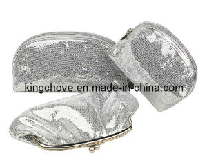 2014 Hot and Fashion Silver PU Evening Bag (KCE09) pictures & photos