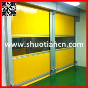 Clean Room Interlocking System Fast Automatic Door (ST-001) pictures & photos