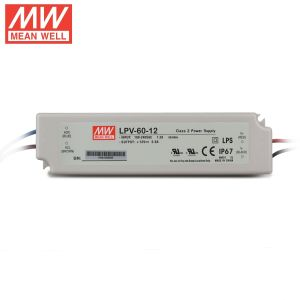 Waterproof Meanwell Lpv-60 12V IP67 LED Switching Power Supply pictures & photos
