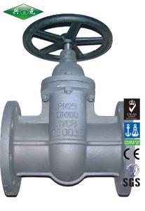 DIN Carbon Steel Industrial Flange F5 Gate Valve