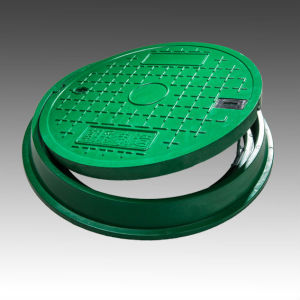 Best Selling Environment Friendly Grass Use Plastic Round 600mm Water Well Covers