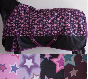 Waterproof Stars Print Design Pony Turnout Rug (SMR1669) pictures & photos