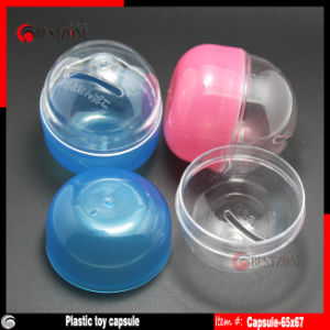 Colorful Plastic Toy Capsules for Vending Machine pictures & photos