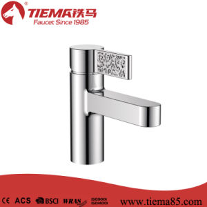 2015 New Design Single Lever Basin Faucet (ZS41703)