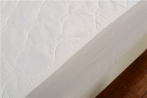 Sanding Soft Viscose Bonded Padding Washable Mattress Cover pictures & photos