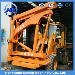 Roadside Safety Barrier Guardrail Hydraulic Pile Driver Machine pictures & photos