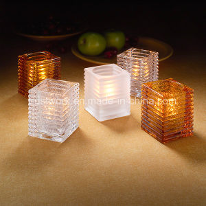 Hospitality Home Decoration Glass Candle Holder pictures & photos