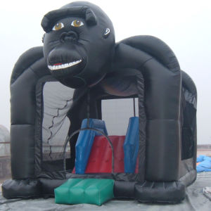 Gaint Gorilla Bounce House and Slide Combo