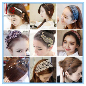 Womenflower Bowknot and Flower Headdress pictures & photos