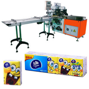 Automatic 10 in 1 Pocket Tissue Paper Packing Machine pictures & photos