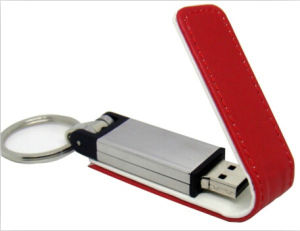 2015 New Design Leather USB Flash Drive pictures & photos