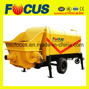 Electric or Diesel Trailer Mounted Concrete Pump for Sale pictures & photos
