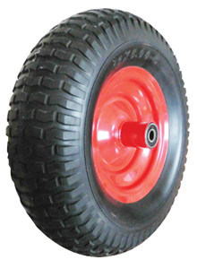 PU Wheels for Wheel Barrow Hand Trolley Tool Cart PU1303