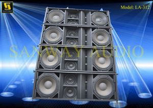 Dual 12′′ Water-Proof Line Array (LA-312) pictures & photos