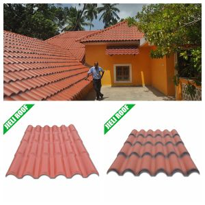 Synthetic PVC Terracotta Roof Tile pictures & photos