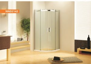 Frameless Roller Running Sector Shower Enclosure (NND2142) pictures & photos