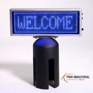"Crowd Control Stanchion Post Top 7""/180mm X 2""/50mm LED Signs pictures & photos"