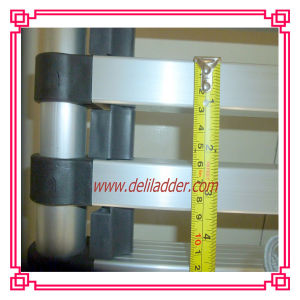 Telescopic Ladder with 3 Cm Finger Safety Gap (DLT212B-A) pictures & photos