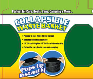 Easily Take Collapsible Rubbish Car Bin pictures & photos